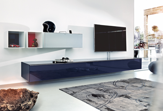meubles tv design haut de gamme. Black Bedroom Furniture Sets. Home Design Ideas